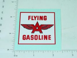 "2.5"" Flying A Gasoline Sticker"