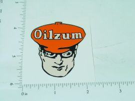 "2"" Wide Oilzum Motor Oil Head Sticker"