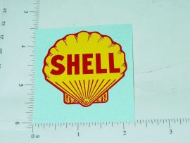 "2"" Shell Motor Oil Sticker"