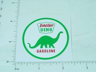 """2"""" Sinclair Gasoline Round Sticker Main Image"""