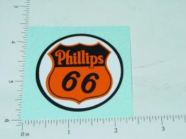 "2"" Phillips 66 Badge Sticker"