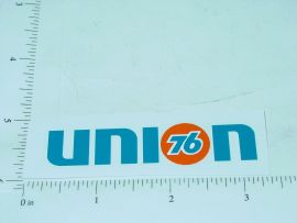 "3"" Wide Union 76 Sticker"
