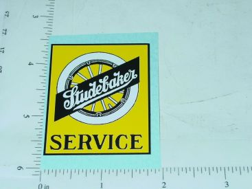 "2"" Wide Studebaker Service Sticker Main Image"