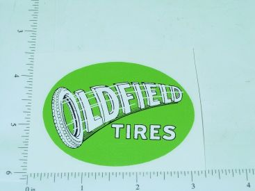 "3"" Wide Oldfield Tires Sticker Main Image"