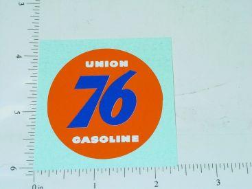 """2"""" Round Union 76 Gasoline Sticker Main Image"""