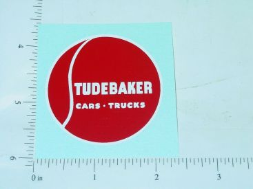 "2"" Round Studebaker Cars and Trucks Sticker Main Image"