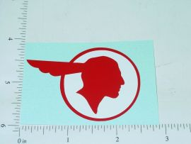 "2.5"" Wide Pontiac Head Sticker"