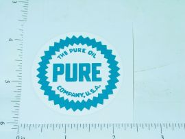 "2"" Round Pure Oil Sticker"