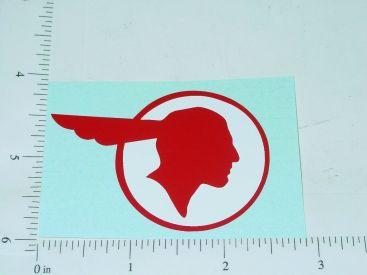 "2.5"" Wide Pontiac Head Sticker Main Image"