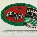 "5"" Wide 1953 Bardahl Motor Oil Oval Sticker Main Image"