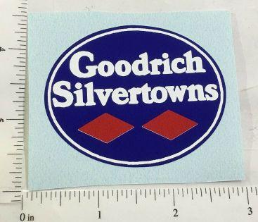 """2.5"""" Wide Goodrich Silvertowns Sticker Main Image"""