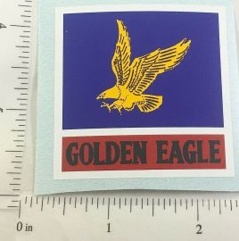"2"" Golden Eagle Gasoline Sticker"