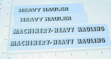 All American Heavy Hauler Semi Trailer Stickers Main Image