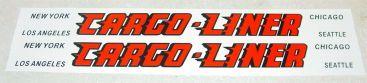 All American Cargo Liner Semi Trailer Stickers Main Image