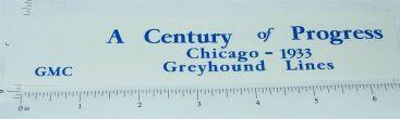 Arcade Cast Iron 1933 Chicago Century of Progress Toy Sticker Main Image