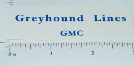 Arcade Cast Iron Greyhound Lines Toy Sticker