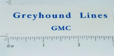 Arcade Cast Iron Greyhound Lines Toy Sticker Main Image