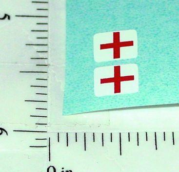 Barclay Ambulance Diecats Toy Sticker Set Main Image