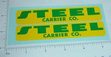 Buckeye Steel Company Semi Truck Sticker Set Main Image