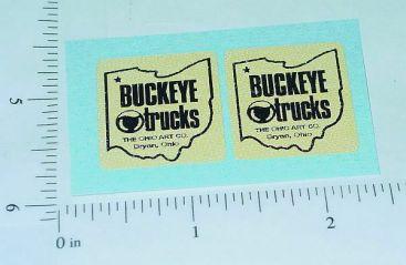 Buckeye Trucks Door Replacement Sticker Set Main Image