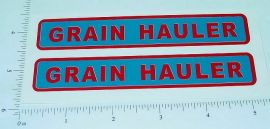 Buckeye Grain Hauler Semi Trailer Sticker Set