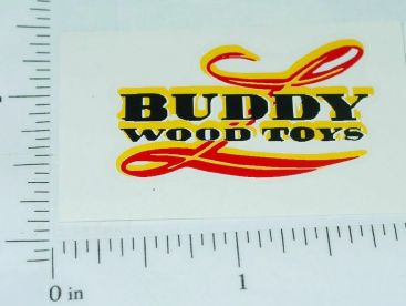 Buddy L Wood Toys Truck Replacement Sticker Main Image