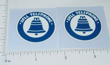 Buddy L Bell Telephone Truck Sticker Set Main Image