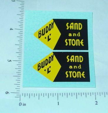 Buddy L Sand & Stone Dump Truck Stickers Main Image