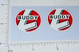 Buddy L Construction Company Stickers            BL-015