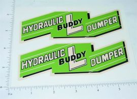 Buddy L Hydraulic Dumper Large Sticker Set