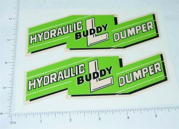 Buddy L Hydraulic Dumper Large Sticker Set Main Image