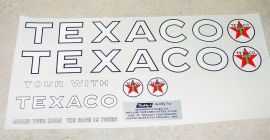 Buddy L Texaco Tanker Semi Sticker Set
