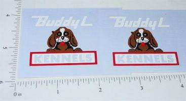 Buddy L Kennels Truck Sticker Set Main Image