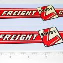 Buddy L Van Freight Lines Sticker Set Main Image