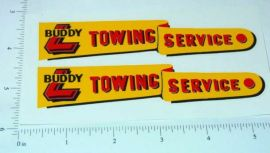Buddy L Towing Wrecker Sticker Set