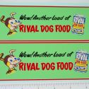 Buddy L Rival Dog Food Box Truck Stickers Main Image