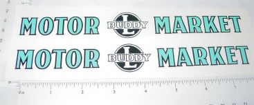 Buddy L Motor Market Delivery Truck Stickers Main Image