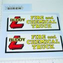 Buddy L Fire & Chemical Truck Sticker Set Main Image