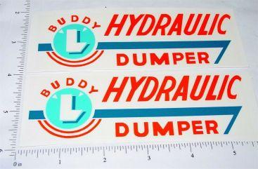Buddy L Hydraulic Dumper Truck Sticker Set Main Image