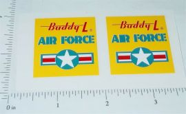 Buddy L US Air Force Troop Truck Stickers
