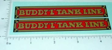 Buddy L Tank Line Truck Sticker Set Main Image