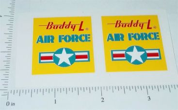 Buddy L US Air Force Troop Truck Stickers Main Image