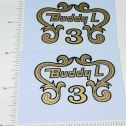 Buddy L Ranchero Fire Pumper Replacement Stickers Main Image