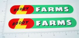 Buddy L Farms Ride On Horse/Wagon Stickers
