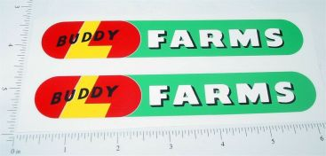 Buddy L Farms Ride On Horse/Wagon Stickers Main Image