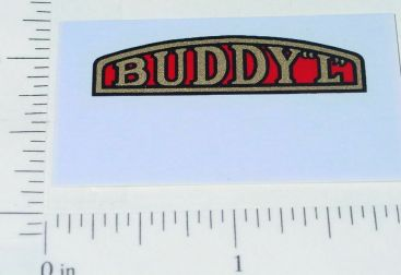 Buddy L Pre-War Truck Radiator Emblem Sticker Main Image