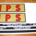Buddy L MPS Moving Semi Sticker Set Main Image