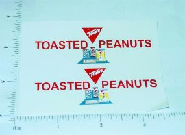 Buddy L Tom's Peanuts Delivery Van Stickers