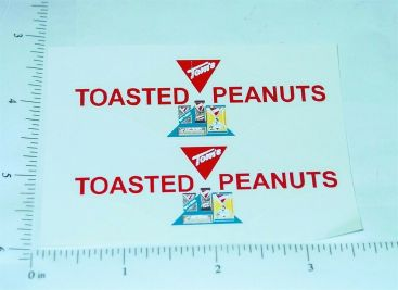 Buddy L Tom's Peanuts Delivery Van Stickers Main Image