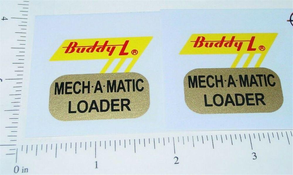 Buddy L Bordens Milk Van Sticker Set      BL-005